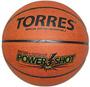 Мяч баскетбольный TORRES Power Shot размер 7 title=