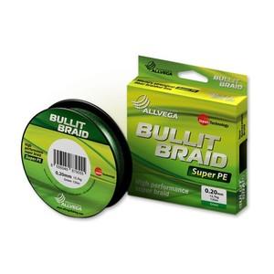 Плетеный шнур Allvega Bullit Braid Dark Green 92м фото