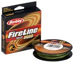 Плетеный шнур Berkley FireLine Braid Tracer 110м