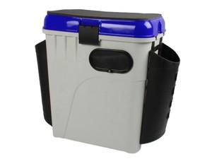 Ящик рыболовный зимний Salmo 2-х ярусный с пластиковыми карманами фото