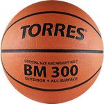 Мяч баскетбольный TORRES BM300 размер 7