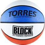 Мяч баскетбольный TORRES Block размер 7