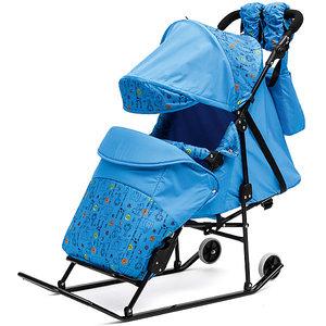 Санки-коляска Зимняя сказка 3В Авто фото