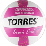 Мяч волейбольный TORRES Beach Sand Pink размер 5