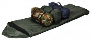 Спальный мешок Сталкер Богатырь с капюшоном и москитной сеткой фото