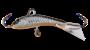 Балансир Strike Pro Dolphin Ice 30 с прозрачным хвостом IF-007-A70E title=