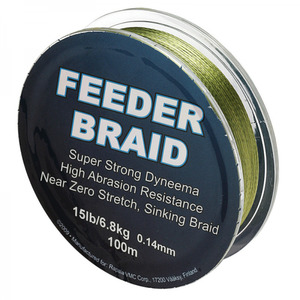 Плетеный шнур Sufix Feeder Braid Gore Olive Green 100м фото