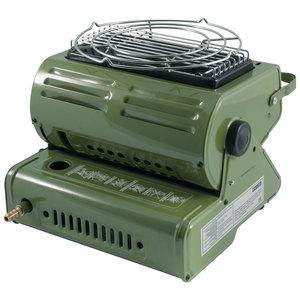 Газовая плита-обогреватель 2 в 1 ECOS с переходником фото