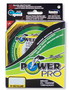 Плетеный шнур Power Pro Hi-Vis Yellow 92м title=