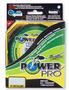 Плетеный шнур Power Pro Hi-Vis Yellow 135м title=