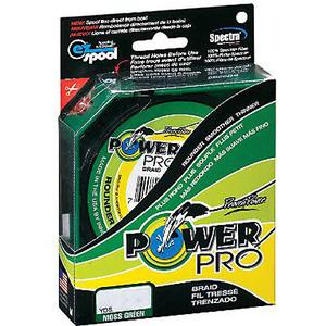 Плетеный шнур Power Pro Moss Green 92м фото