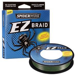 Плетеный шнур SpiderWire EZ Braid 100м зеленый фото