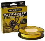 Плетеный шнур SpiderWire Ultracast 8 Carrier Ultimate Brade Yellow 110м