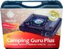 Плита газовая портативная Camping Guru Plus (TS-233) с переходником title=