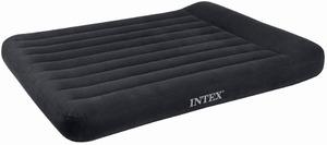 Кровать Intex Pillow Rest Classic 137x191x30 см флок, 66768 фото