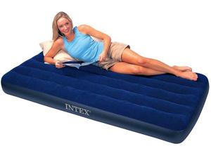 Кровать Intex Classic Downy 99x191x22 см флок, 68757 фото