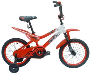 """Детский велосипед Black Aqua 16"""" Motorbike фото"""